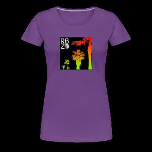 rbz south florida palm trees - Women's Premium T-Shirt