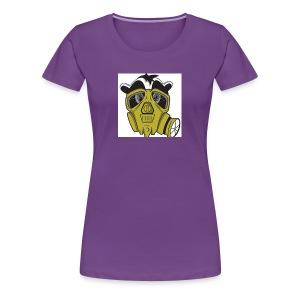 gasmask panda - Women's Premium T-Shirt