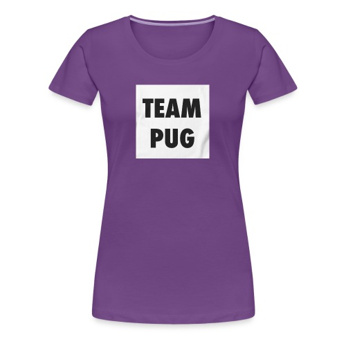 Pug Lover - Women's Premium T-Shirt