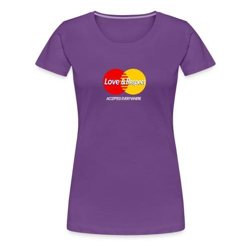 Love and Respect - Women's Premium T-Shirt