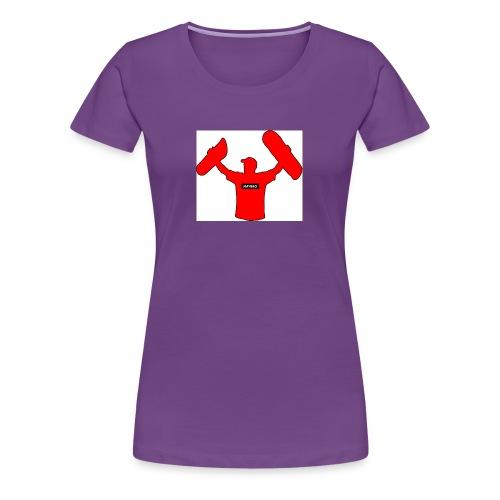 haybro gone wild logo - Women's Premium T-Shirt