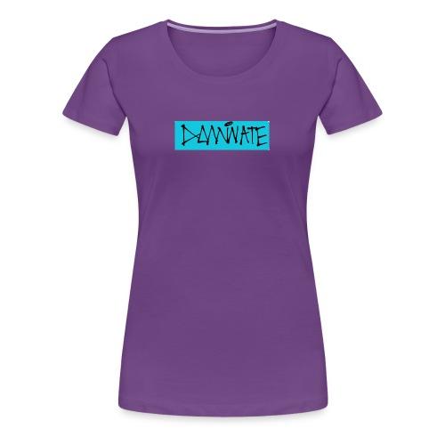 Dominate box logo - Women's Premium T-Shirt
