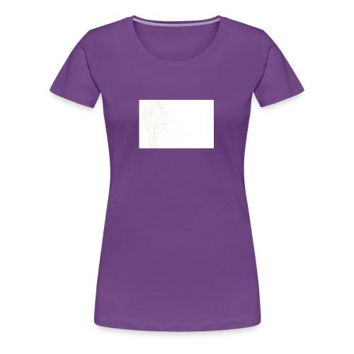 Lion Outlined image for shirt - Women's Premium T-Shirt