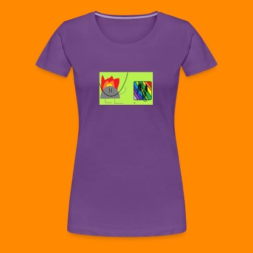 burn - Women's Premium T-Shirt