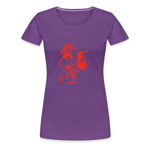 Rooster Shirts - Women's Premium T-Shirt