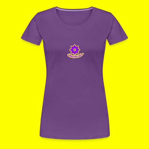 Ususual flower logo - Women's Premium T-Shirt
