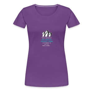 THESE_HANDS_FRONT_1-11_LARGE - Women's Premium T-Shirt