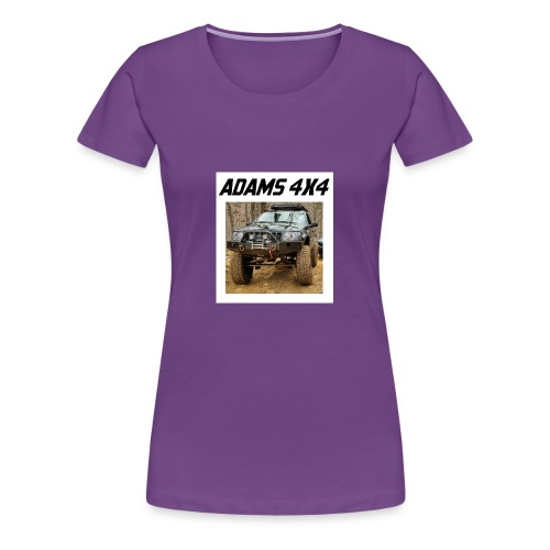 Adams4x4_Tshirt_1 - Women's Premium T-Shirt