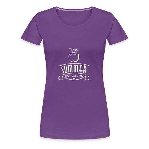 Summer Travel Time - Women's Premium T-Shirt