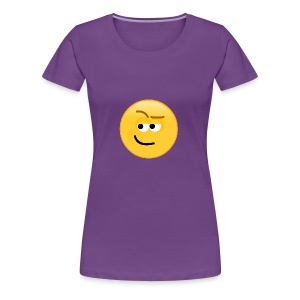 Smirk - Women's Premium T-Shirt