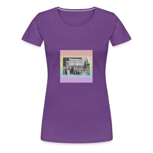 make love fearless again pins - Women's Premium T-Shirt