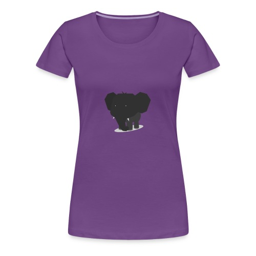 Origami Elephant Cute - Women's Premium T-Shirt