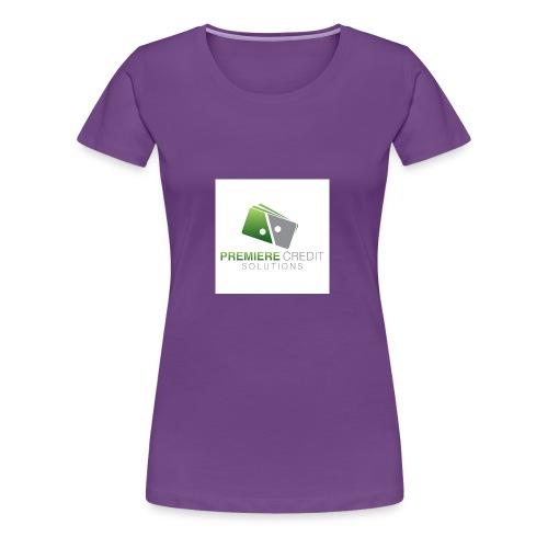 4516 Premiere Credit Solutions Logo H 02 - Women's Premium T-Shirt