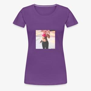 Fitness Model - Women's Premium T-Shirt