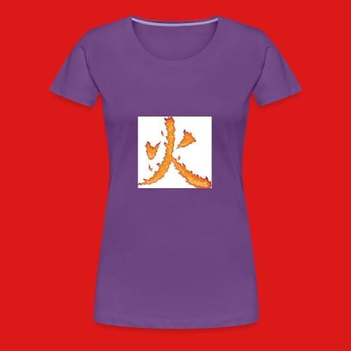 Fire till da end come and get it - Women's Premium T-Shirt