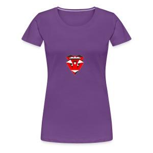 IntricateLove Heart - Women's Premium T-Shirt