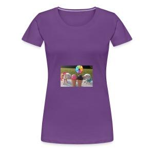 Poppy and priscilla piglets Summer - Women's Premium T-Shirt