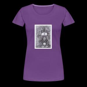 Rabbit Shaman - Women's Premium T-Shirt
