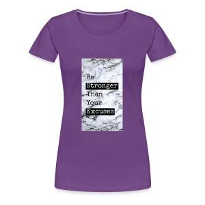 positive reminder - Women's Premium T-Shirt