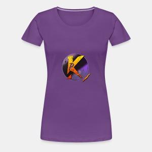 Átlátszó P Logó - Women's Premium T-Shirt