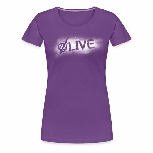Dicey D20 Live Stream - Women's Premium T-Shirt