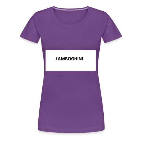 LAMBOGHINI SHIRT - Women's Premium T-Shirt