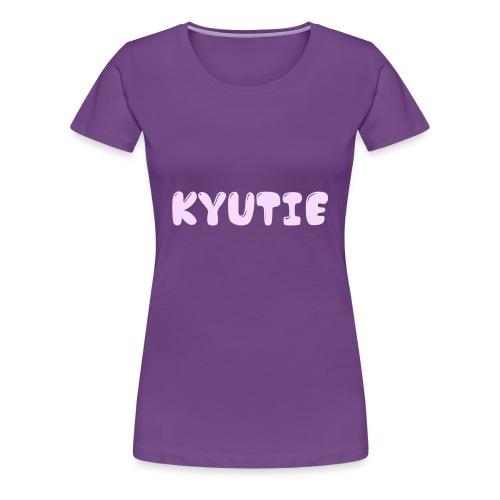 Kyutie Official Phone Cases - Women's Premium T-Shirt