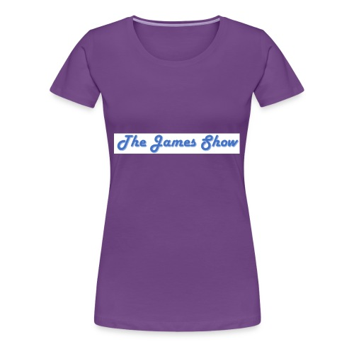 The James Show - Women's Premium T-Shirt