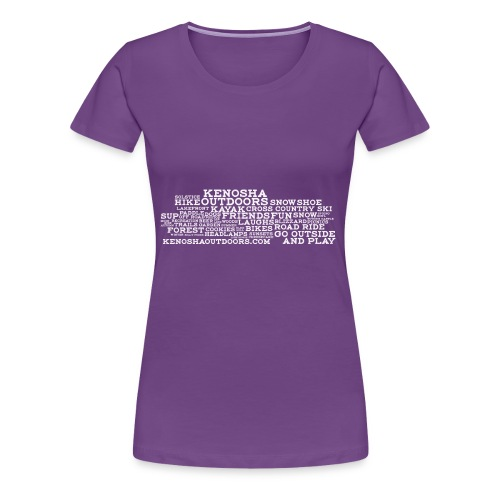ko with address - Women's Premium T-Shirt