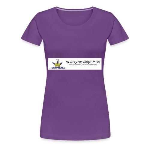 Wanyheadpress Logo - Women's Premium T-Shirt