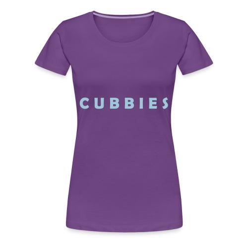 Cubbies Hat - Women's Premium T-Shirt