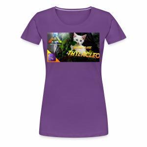 Frostbyte the YouTube kitty - Women's Premium T-Shirt