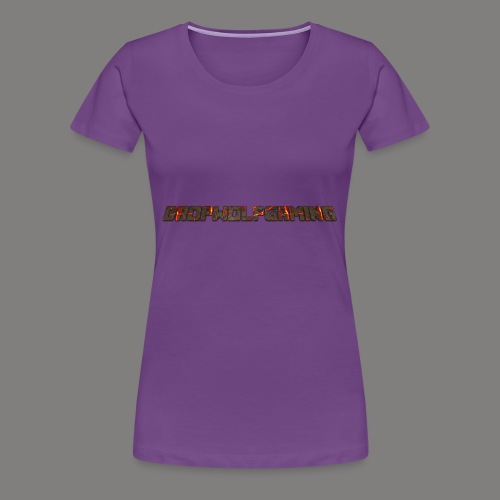 DropWolfGaming - Women's Premium T-Shirt