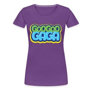 Goo Goo Gaga Logo - Women's Premium T-Shirt