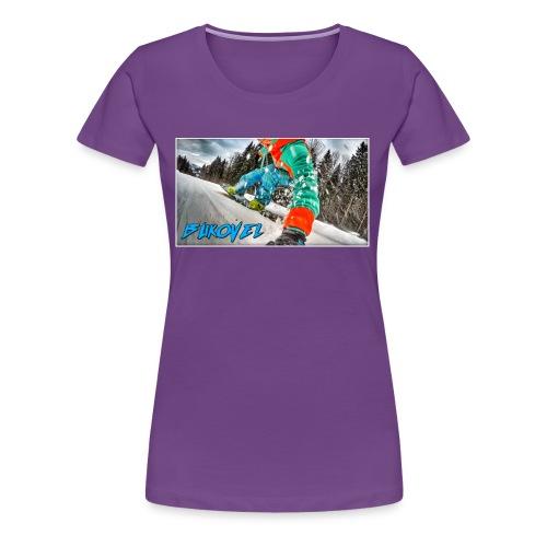 Bukovel Snowboarding - Women's Premium T-Shirt