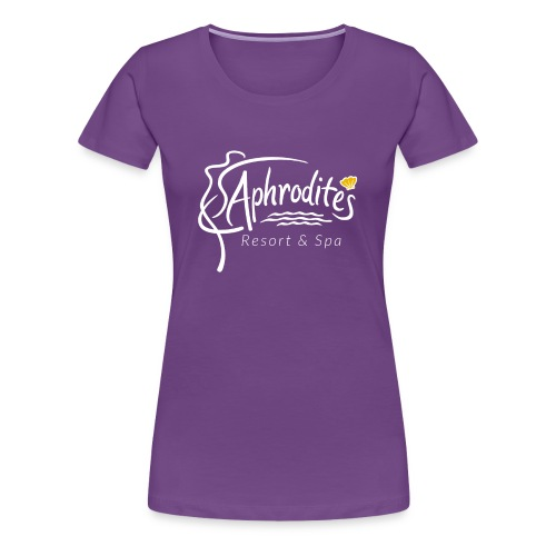 Aphrodite's Resort & Spa Logo - Women's Premium T-Shirt