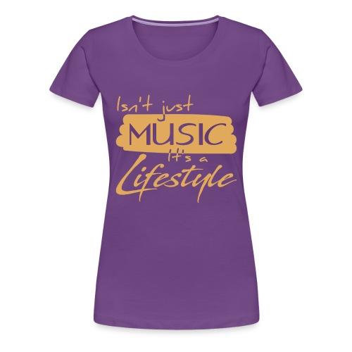 Musician Lifestyle - Women's Premium T-Shirt