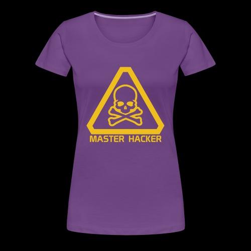 Master Hacker - Women's Premium T-Shirt