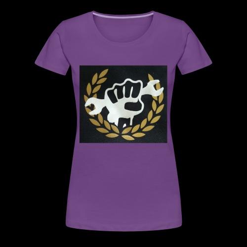 Shop crest - Women's Premium T-Shirt