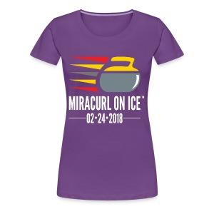Miracurl On Ice Celebration - Women's Premium T-Shirt