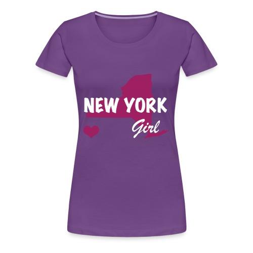 New York Girls - Women's Premium T-Shirt