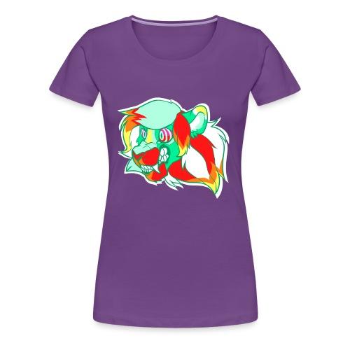 Psychedelic Lion - Women's Premium T-Shirt