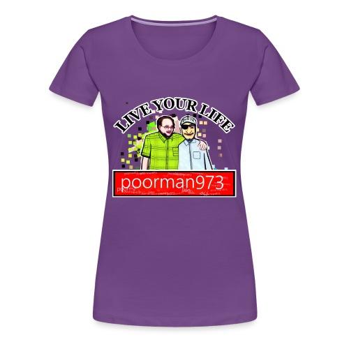 Don't let Depression Win, Live Your Life - Women's Premium T-Shirt