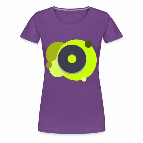 Yellow Donut - Women's Premium T-Shirt