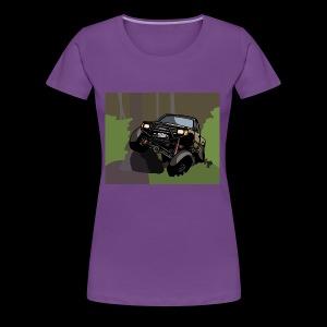 The Jalopy Rectangle - Women's Premium T-Shirt