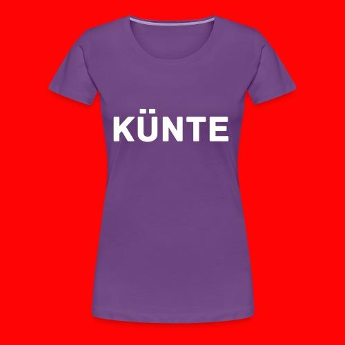 künte side - Women's Premium T-Shirt