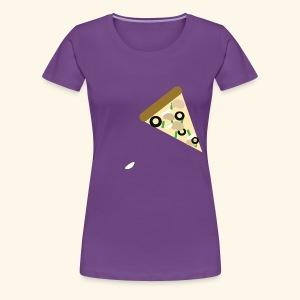 pizza - Women's Premium T-Shirt