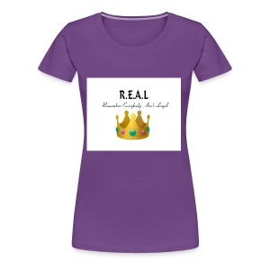 REALcrown - Women's Premium T-Shirt