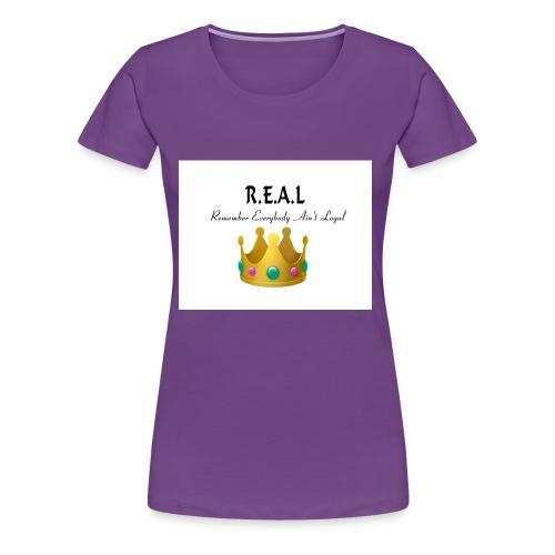 REALcrown - Women's Premium T-Shirt