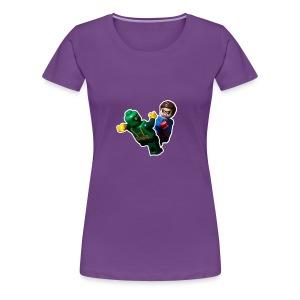 Lego Bucky Barnes Vs Hydra Soldier - Women's Premium T-Shirt